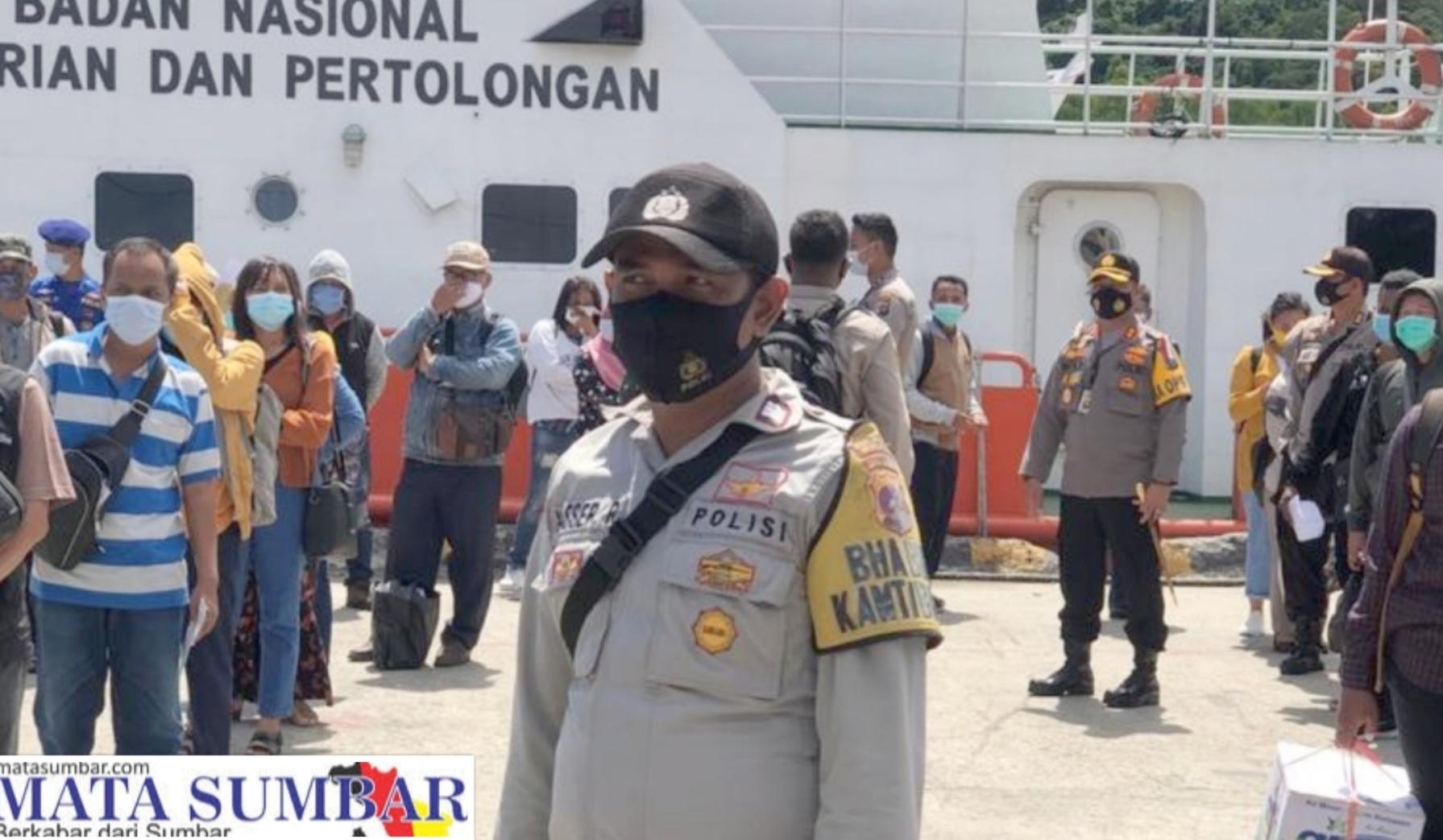 Polres Mentawai Perketat Check Point di Dermaga Tuapejat
