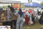 Antisipasi Lonjakan Harga Jelang Lembaran, Pemkab Pasbar Bersama TTIC Gelar Pasar Murah