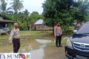 Forkopimda Mentawai Tinjau Lokasi Banjir di Desa Saureinu'