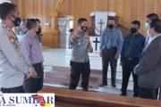 Polsek Sipora Sampaikan Pesan Prokes di Sejumlah Rumah Ibadah