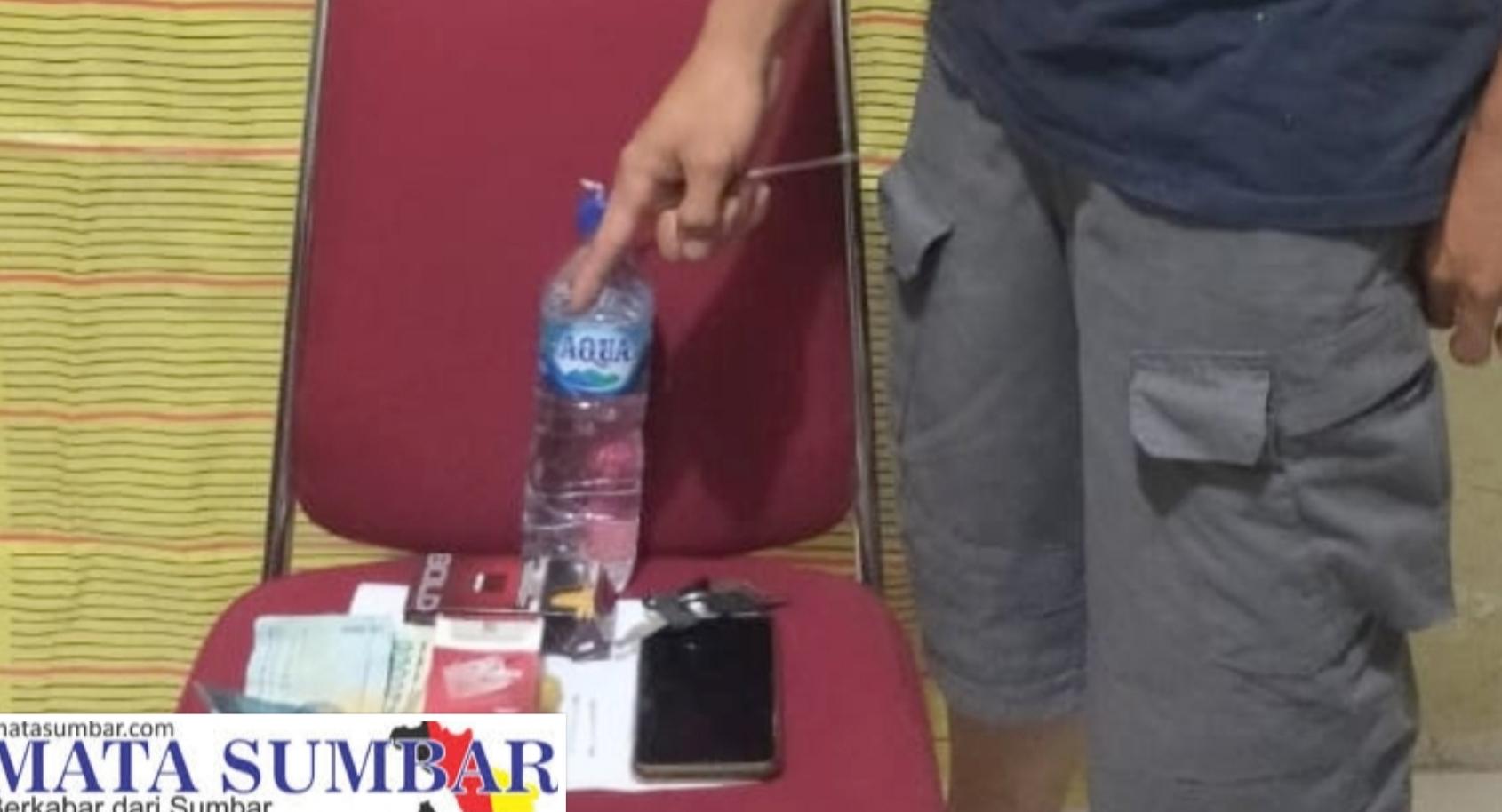 Satresnarkoba Polres Mentawai Ringkus Seorang Pemuda di Rumah Kosong Simpang Simaobbuk