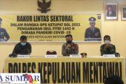 Operasi Ketupat, Kapolres Mentawai Ajak Komponen Masyarakat Bersama Jaga Kamtibmas