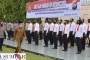 Ops Ketupat 2021, Apel Gelar Pasukan di Pimpin Wakil Bupati Pasbar