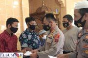 Santuni 24 Anak Yatim, Kapolres Mentawai : Manfaatkan Momen Ramadhan Untuk Berbuat Baik