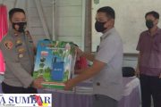 Hadiri Penyerahan Bantuan Peralatan Atasi Covid-19, Kapolsek Sipora : Setiap Gereja Lebih Aktif Terapkan Prokes