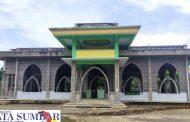 Keluarga Besar Perantau Pinaga Saiyo Donasikan Sebagian Harta Untuk Pembangunan Masjid Jami'
