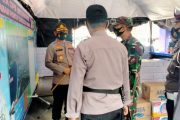 Dua Unsur Pimpinan TNI-Polri di Pessel Cek Pos Pengamanan Ops Ketupat Singgalang di Tempat Objek Wisata