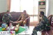 Inisiatif Sendiri, Rusma Yul Anwar Jalin Silahturahmi di Makodim 0311/Pessel