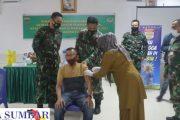 Kodim 0311/Pessel Gelar Vaksinasi Untuk Purnawirawan TNI-AD