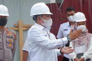 Tinjau Pembangunan Interne RSUD MA Hanafiah, Bupati : Jangan Sampai Mangkrak Lagi