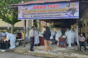 175 Personel Polres Pasbar Ikuti Swab Test