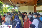 Kerumunan Tanpa Jaga Jarak Terjadi di Kantor Penghubung Pemkab Mentawai