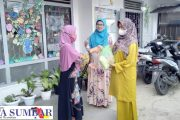 Lembaga Pendidikan Bunda Denisha Berbagi Sembako Kepada Kaum Dhuafa