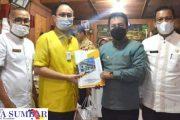 Wamendag Singgah di Kota Padang Panjang, Asrul Harapkan Dua Proposal Dapat di Tindaklanjuti