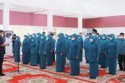 Bupati Sutan Riska Lantik Pengurus TP PKK Dharmasraya Periode 2021-2024