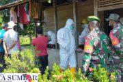 Forkopimca Dampingi Satgas Gabungan Tracking Warga Terpapar Covid-19 di Dusun Mapoupou