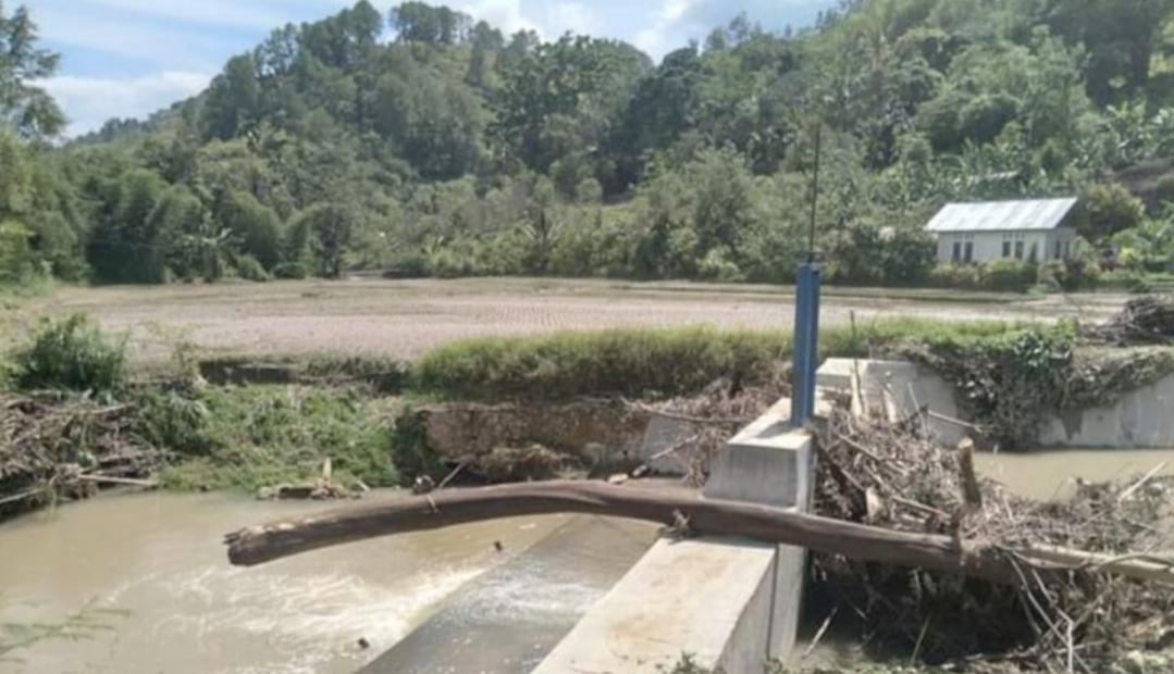 Bangunan Embung Batang Namang Berdampak Buruk Bagi Petani, Pengaduan Masyarakat Lambat di Respon