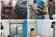 Kecelakaan di Dekat Masjid At-Taqwa Tuapejat, Dua Pengendara Alami Luka-Luka