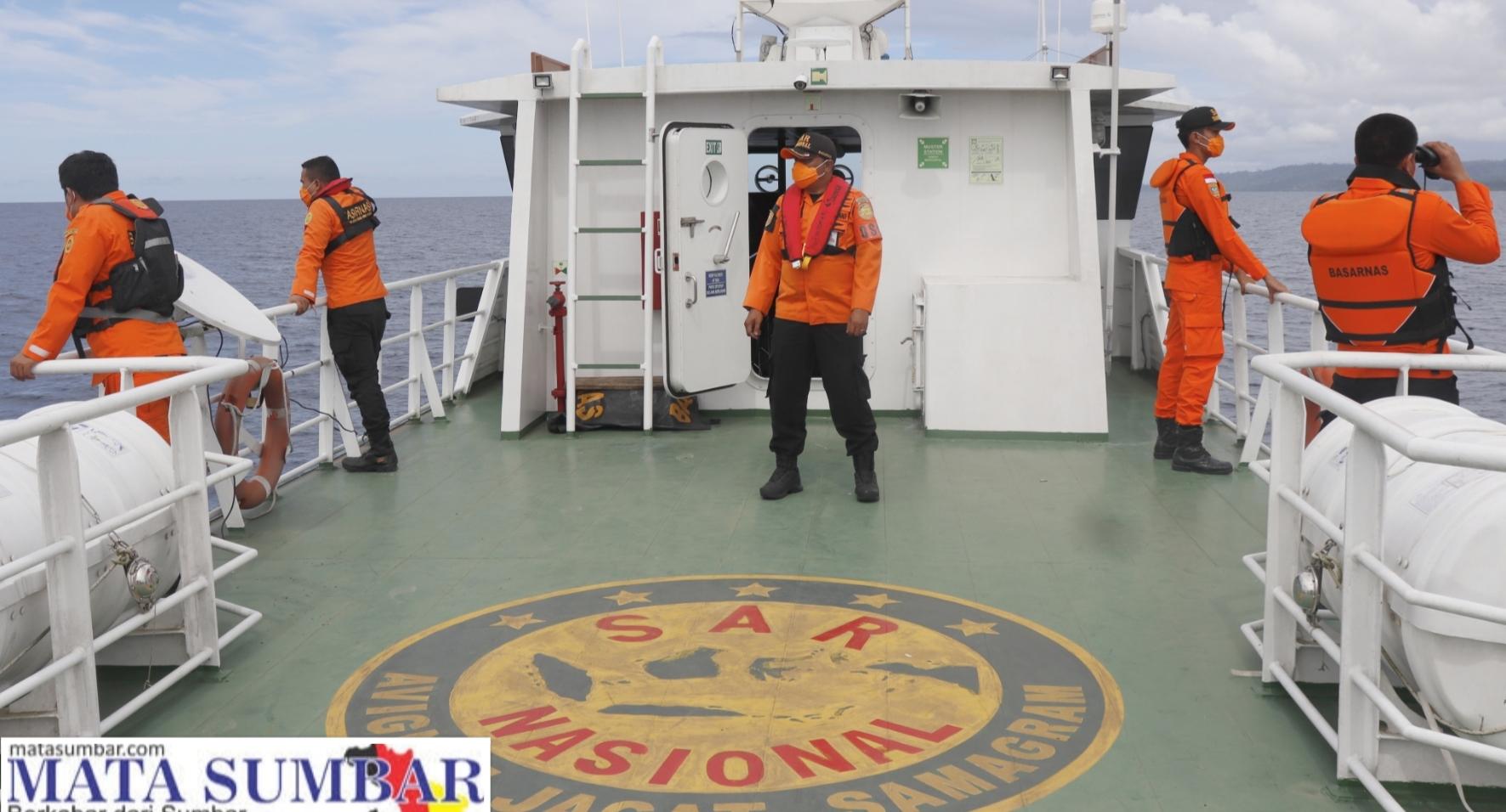 Pencarian Kapal Hilang Kontak POB 4 Orang Masih Nihil, Tanda-tanda Belum di Temukan Secara Akurat