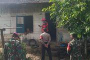 Warga Terpapar Covid-19, Babinsa Sikakap Bantu Timkes Lakukan Tracking di Dusun Pasibuat