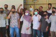 Launching Kampanye dan Deklarasi Damai Pilkades Bukit Pamewa, Bhabin : Jaga Sportivitas Serta Patuhi Prokes