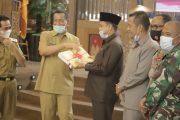 Rapat Paripurna DPRD Pessel, Bupati Rusma Yul Anwar Sampaikan Dua Ranperda
