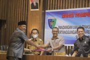 Dua Ranperda di Sampaikan Bupati Rusma Yul Anwar di Apresiasi 9 Fraksi DPRD Pessel