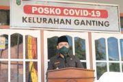 Rumah Kesehatan Covid-19 di Kelurahan Ganting di Resmikan Wako Fadly