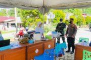 Cek Pelaksanaan Vaksinasi, Dandim Bersama Kapolres Turun Ke Lokasi Kantor Dinkes Mentawai