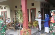 Babinsa Jurai Dampingi Timkes Lakukan Tracking Terhadap Warga Positif Covid-19