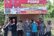 Pastikan Kesiapan Posko PPKM, Danramil Sikakap Turun ke Lokasi Desa Makalo