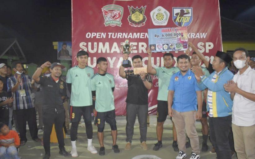 Turnamen Sepak Takraw IPPD Cup X se-Sumatera,Tim Pekat IB Padang Pariaman Berhasil Keluar Sebagai Juara I