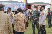 Tekan Penyebaran Covid-19, Animo Masyarakat Tinggi Ikut Vaksinasi di Polres Mentawai