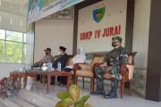 Sertijab Pimpinan Kecamatan di Hadiri Danramil 03/IV Jurai