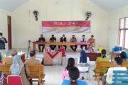 Forkopimda Mentawai Pantau Pelaksanaan Vaksinasi di Kecamatan Sibaday