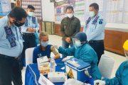 Ciptakan Herd Immunity, 753 WBP dan Petugas Lapas Paledang Bogor Jalani Vaksinasi