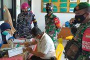 Peserta Serbuan Vaksinasi di Puskesmas Sikakap di ikuti 104 Orang