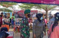 Hari Ketiga Pelaksanaan Vaksinasi Massal di Wilayah Sikakap di ikuti 230 Orang