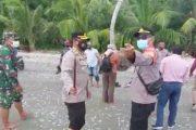 Kapolsek Sikakap Dampingi Forkopimda Mentawai Tinjau Gerai Vaksinasi TNI-Polri di Pulau Terluar