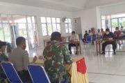 Rakor Penanganan Covid-19 Secara Agama di Hadiri Anggota Koramil 01/Pancung Soal