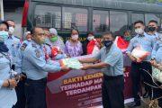 Kemenkumham Peduli Salurkan 46 Ribu Paket Sembako dan Bansos Kepada Masyarakat Terdampak Covid-19