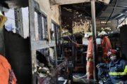 Perumahan Dosen ITS di Surabaya Terbakar, Bocah 6 Tahun Tewas Terkurung Dalam Kamar