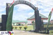 Pangkalan Kodim 0319/Mentawai di Perindah Jelang Peringatan HUT Ke-76 RI