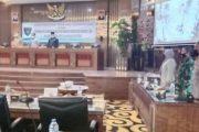 Kasdim 0311/Pessel Hadiri Rapat Paripurna Tentang Nota Ranperda Pengelolaan Barang Milik Daerah Tahun 2021