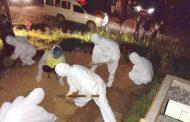 Jenazah Pasien Covid-19 di Makamkan Secara Protap Kesehatan di Dusun Pogari