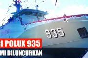 Resmi di Luncurkan, KRI Pollux 935 Perkuat Alustista TNI AL