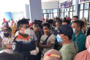 Ratusan Penumpang di Pelabuhan Bontang Tertahan Gegara Tak Miliki Surat Vaksin