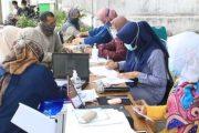 Pelaksanaan Vaksinasi di Tujuh Lokasi Berbeda, Minat Warga Masih Tinggi