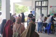 Hari Libur, Dinkes Padang Panjang Tetap Layani Warga Vaksinasi