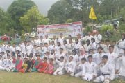 Sukses, Ujian Kyu Semester 1 Pengprov Lemkari Sumbar di Ikuti 250 Peserta